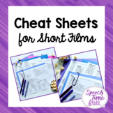 Cheat Sheets for Short Films