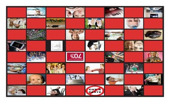 Cheaters and Dishonesty Legal Size Photo Checkerboard Game