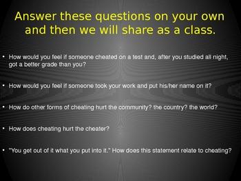Cheating Presentation