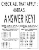 Check All That Apply: Four-Digit By One & Two-Digit By Two Multiplication!