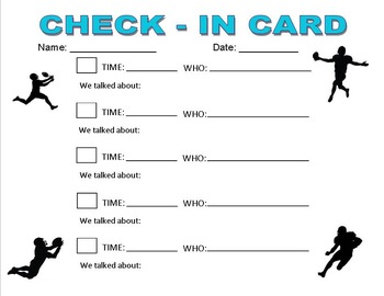 Check-In Card