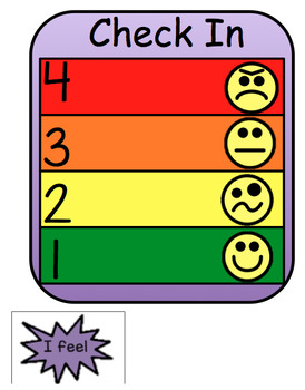 Check In Chart: Identify Your Feelings