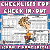 Check In Check Out: 14 Editable Checklists for Effective B