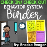 Check In/ Check Out Binder: Positive Behavior Management System