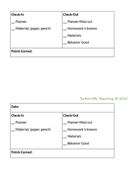 Check-In Check-Out Editable Form