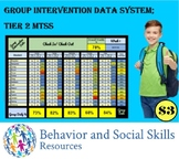Tier 2 - MTSS Group Intervention Data System; RTI, PBIS - Check In Check Out