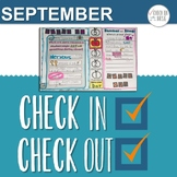 Check In Check Out September