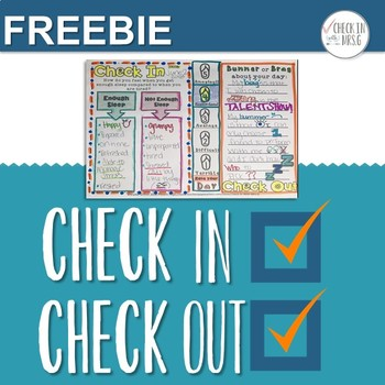Check In Check Out Doodle Notes CICO