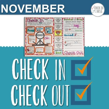 Check In Check Out November