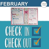 Check In Check Out CICO February