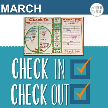 Check In Check Out Doodle Notes March