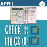 Check In Check Out CICO April