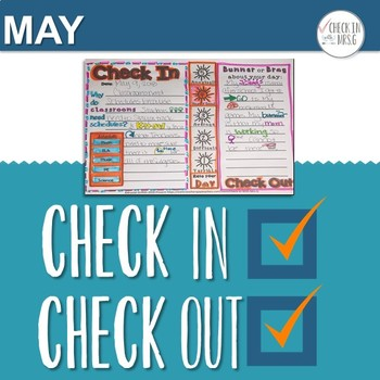 Check In Check Out May