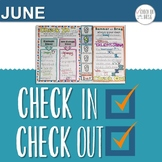 Check In Check Out CICO June