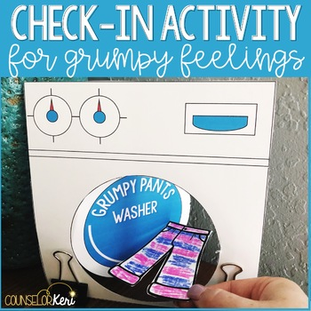 Check In Counseling Activity for Managing Grumpy or Hard Feelings