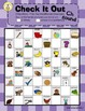 Check it Out Articulation Checkers Game