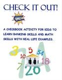 Check  It Out! Common Core Math Enrichment Activity