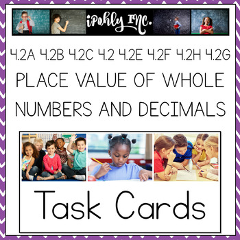 Check It Out!  Place Value of Whole Numbers and Decimals Task cards