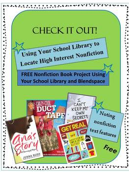 Check It Out!  Using Your School Library to Promote Nonfiction Texts