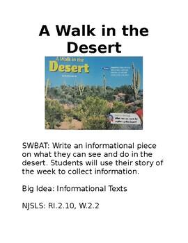 A Walk in the Desert Bulletin Board