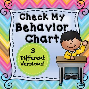 Check-My-Behavior Editable