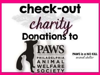 Check-Out Charity: PAWS (Philadelphia Animal Welfare Society)