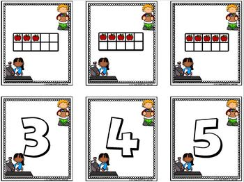 Check Out:  LOW PREP Ten Frame Community Helpers Themed Card Game