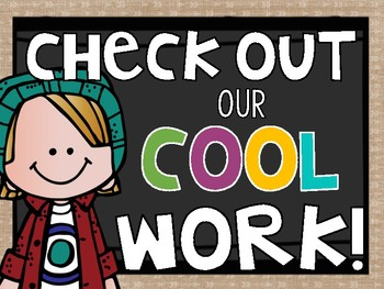 Check Out Our Cool Work - Sign and Banner Freebie