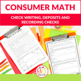 Consumer Math Check Writing for Life Skills Family and Con