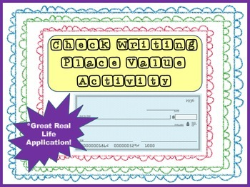 Check Writing Activity-Number Forms