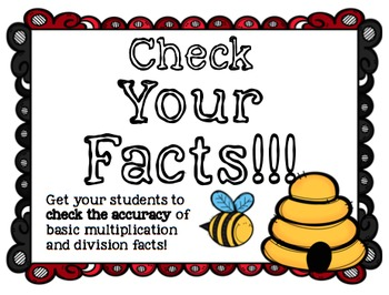 Check Your Facts! Color by correct or incorrect facts