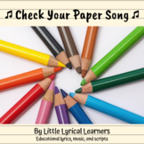 Check Your Paper song