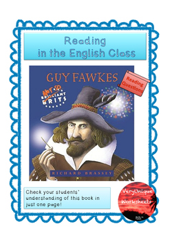 Check Your Understanding - Guy Fawkes