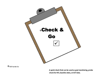 Check and Go TH:  Initial
