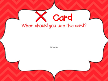 Check for Understanding Cards Editable