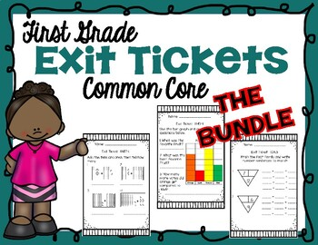 Bundle |Check for Understanding | Exit Ticket | Formative Assessment | First