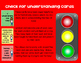 Check for Understanding Stoplight cards