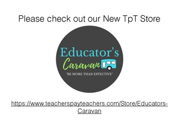 Check out our new TPT Store