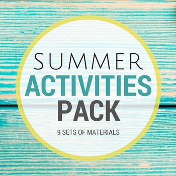 LOVELY Summer Activities Pack