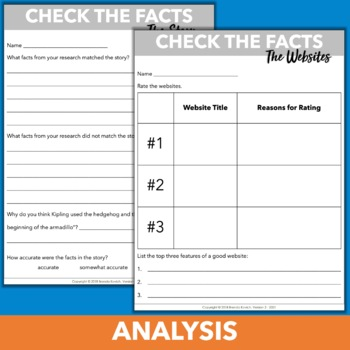 Blended Learning Activity - Interpreting Information & Evaluating Text Features