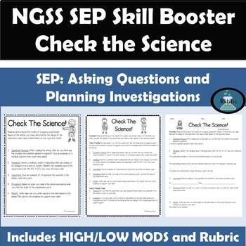 Check the Science NGSS SEP Skill Planning and Carrying Out Investigations PDF