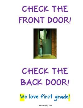 Check the door