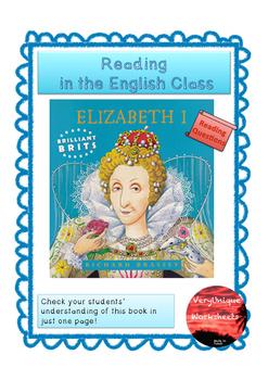 Check your Understanding - Elizabeth I