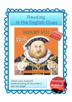 Check your Understanding - Henry VIII