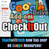 CheckItOut Classroom Items Checkout Check-in Google Forms Add-On