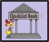 CheckList Bank - software