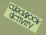 Checkbook Activity - Real Life Examples, Decimals