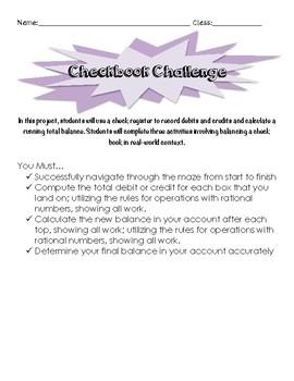 Checkbook Challenge