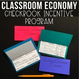 Classroom Economy – Checkbook Incentive Program - Classroom Management System