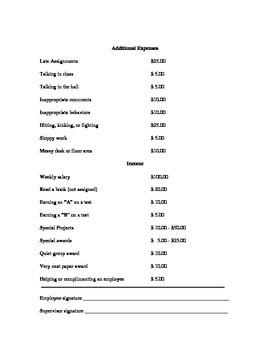 Checkbook Incentive Program to Reinforce Decimal Computation